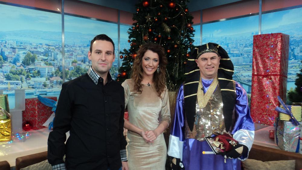 "Milan na TV Happy u jutarnjoj emisiji ""Dobro jutro Srbijo"" 2.1.2013 u 6 h"